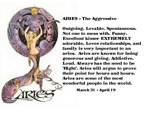 definition horoscope aries