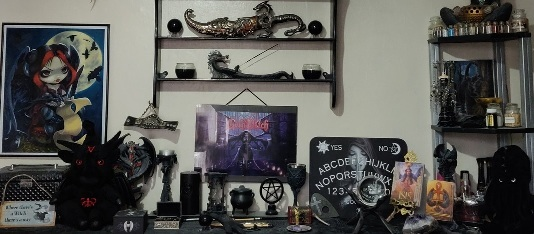 The Altar of The GothWitch