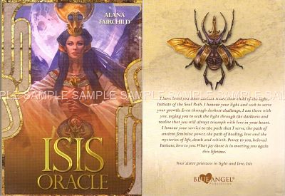 Isis Oracle companion book - front and back