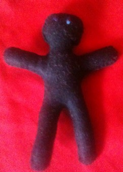 Voodoo poppet - find the pattern on my Poppet page